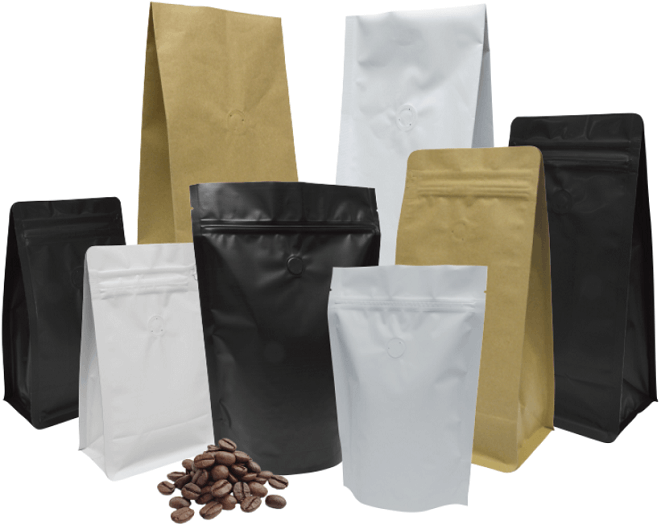 coffee bags packaging
