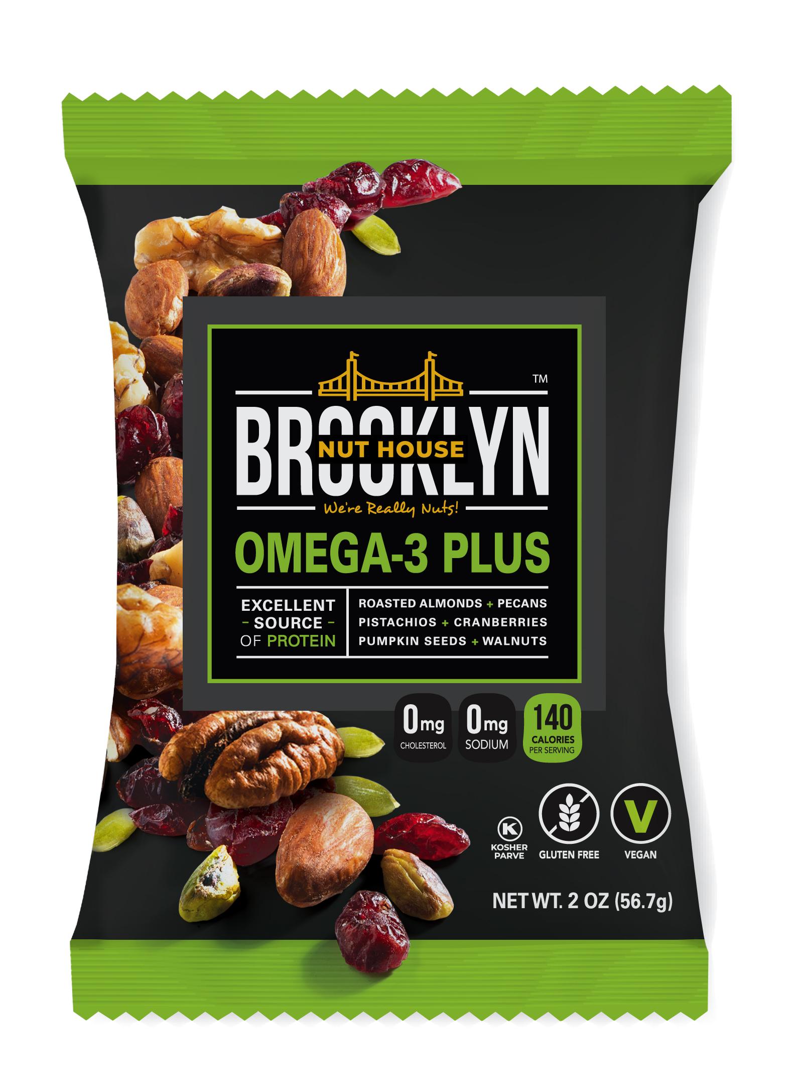 Brooklyn Nut House-Omega 3 Plus-
